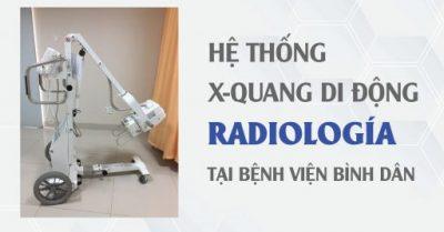 Hệ thống X Quang KTS RADIOLOGÍA tại bệnh viện Bình dân - Công ty Nhật Khoa -01-02
